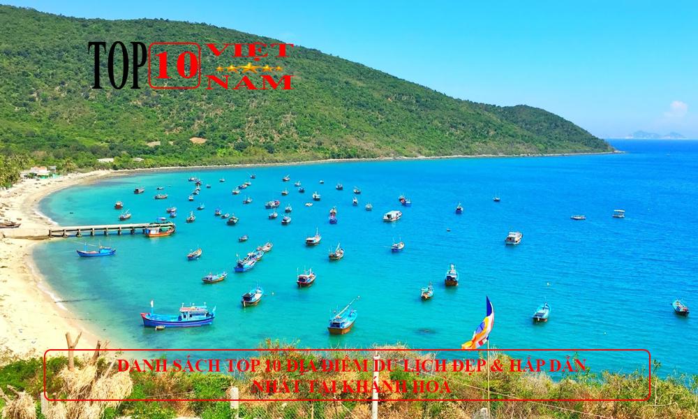 Địa điểm di lịch Vịnh Vân Phong