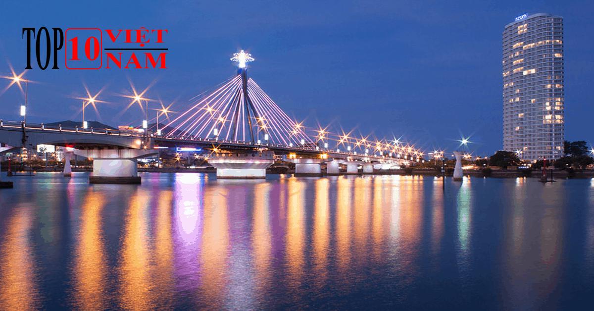 Cầu sông Hàn Địa Điểm Du Lịch Hấp Dẫn Tại Đà Nẵng