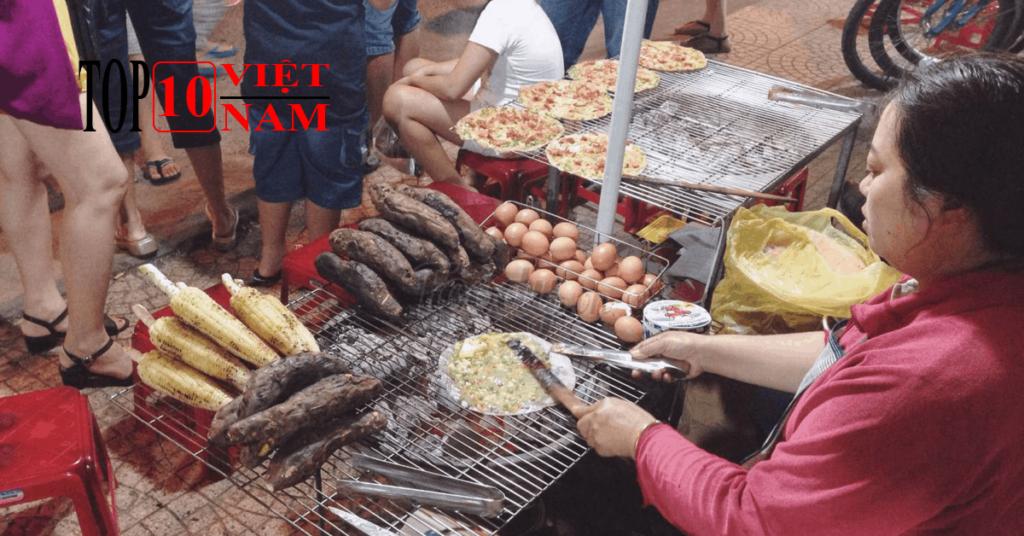 Khoai Lang, Bắp Nướng Món Ngon Đà Lạt