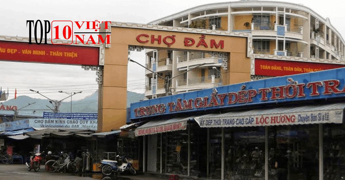 Chợ Đầm – Trung Tâm Thương Mại Nha Trang