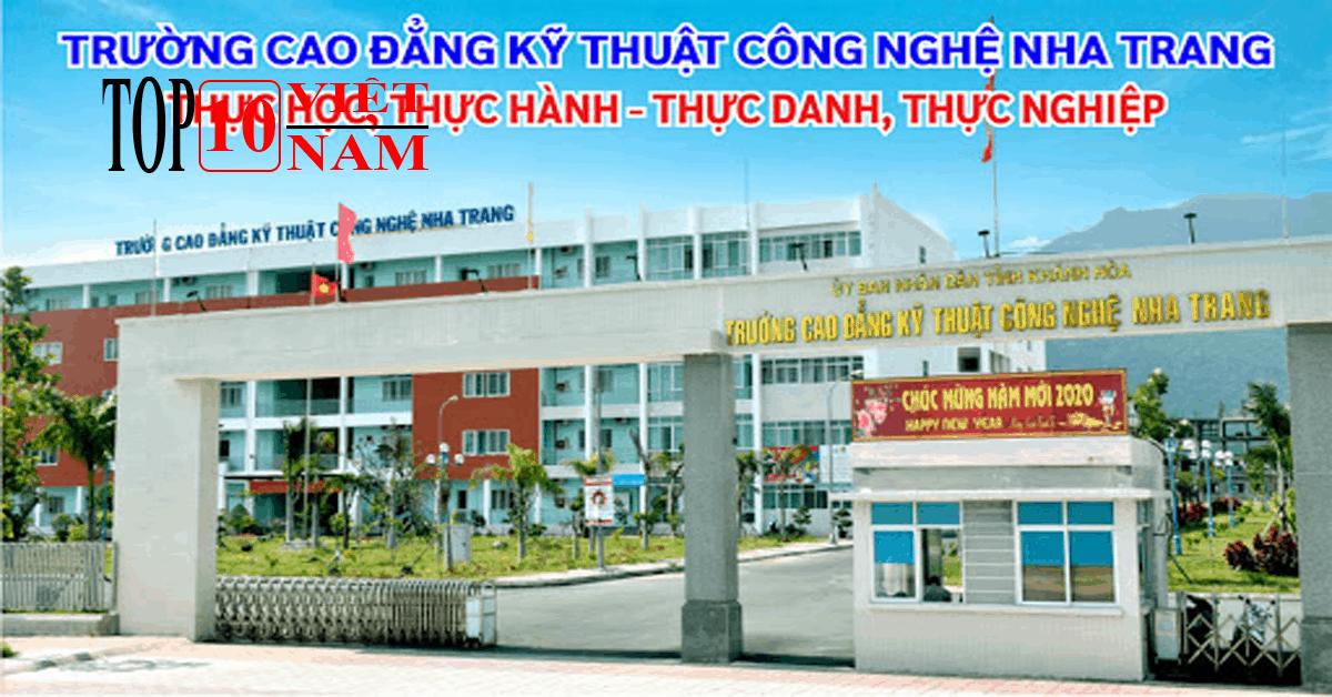 Trường Cao Đẳng Kỹ Thuật Công Nghệ Nha Trang