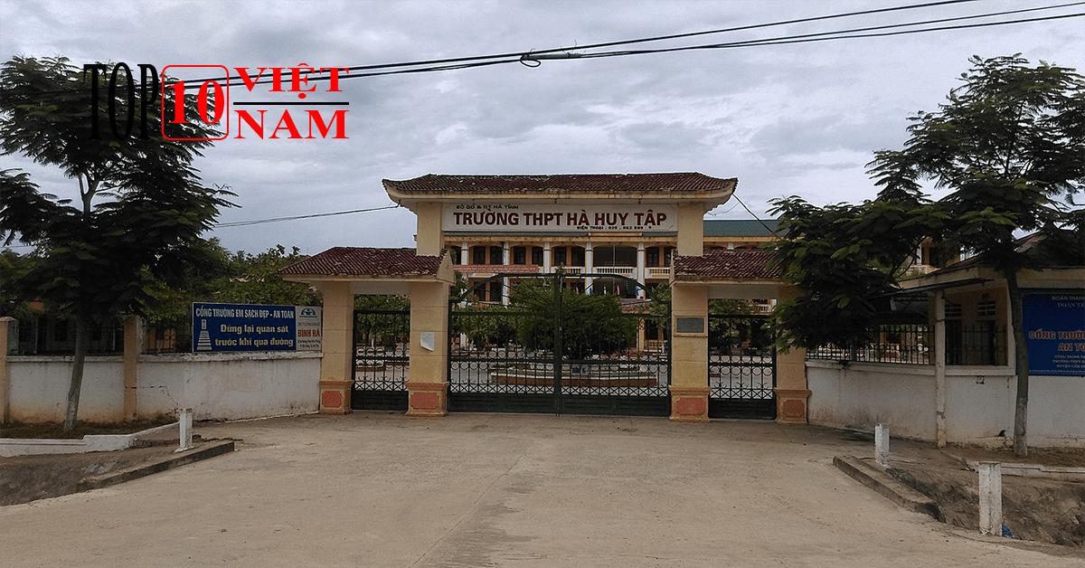 Trường THPT Hà Huy Tập