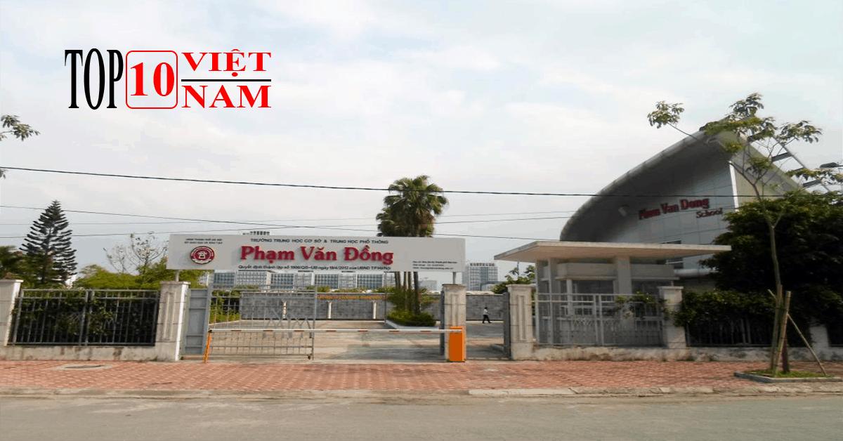 Trường THPT Phạm Văn Đồng