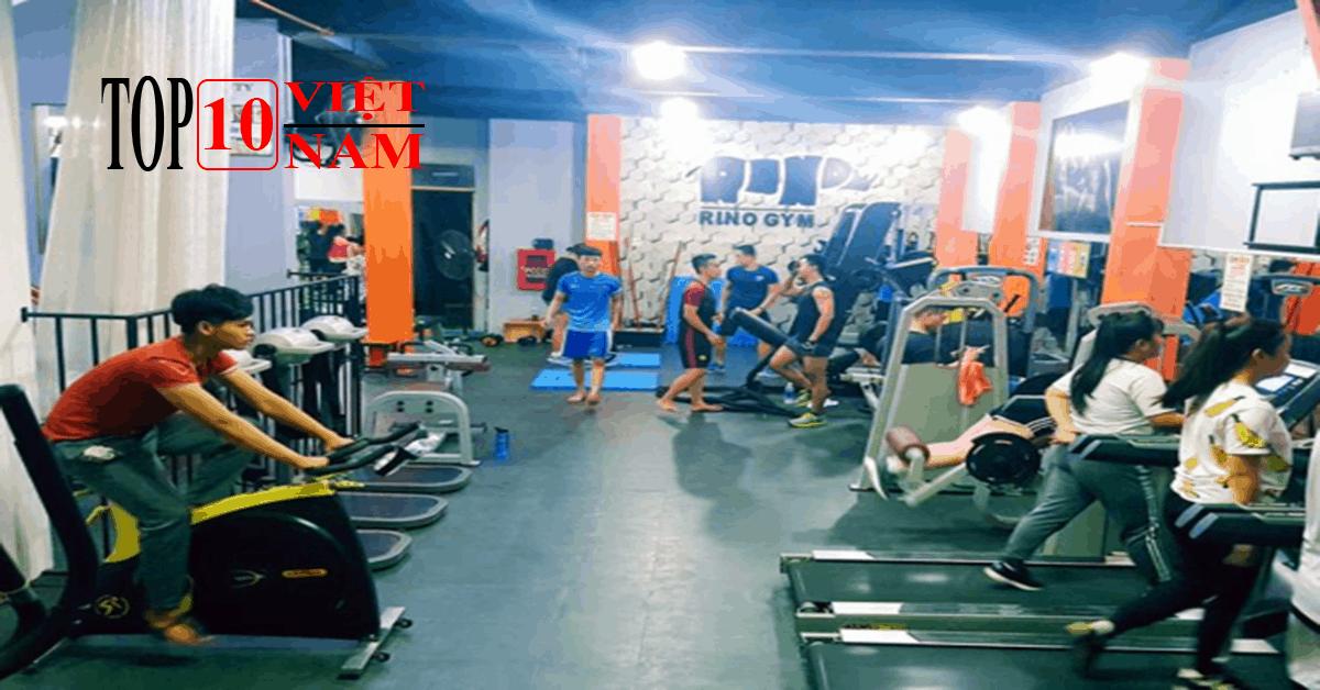 Phòng tập gym Phú Yên