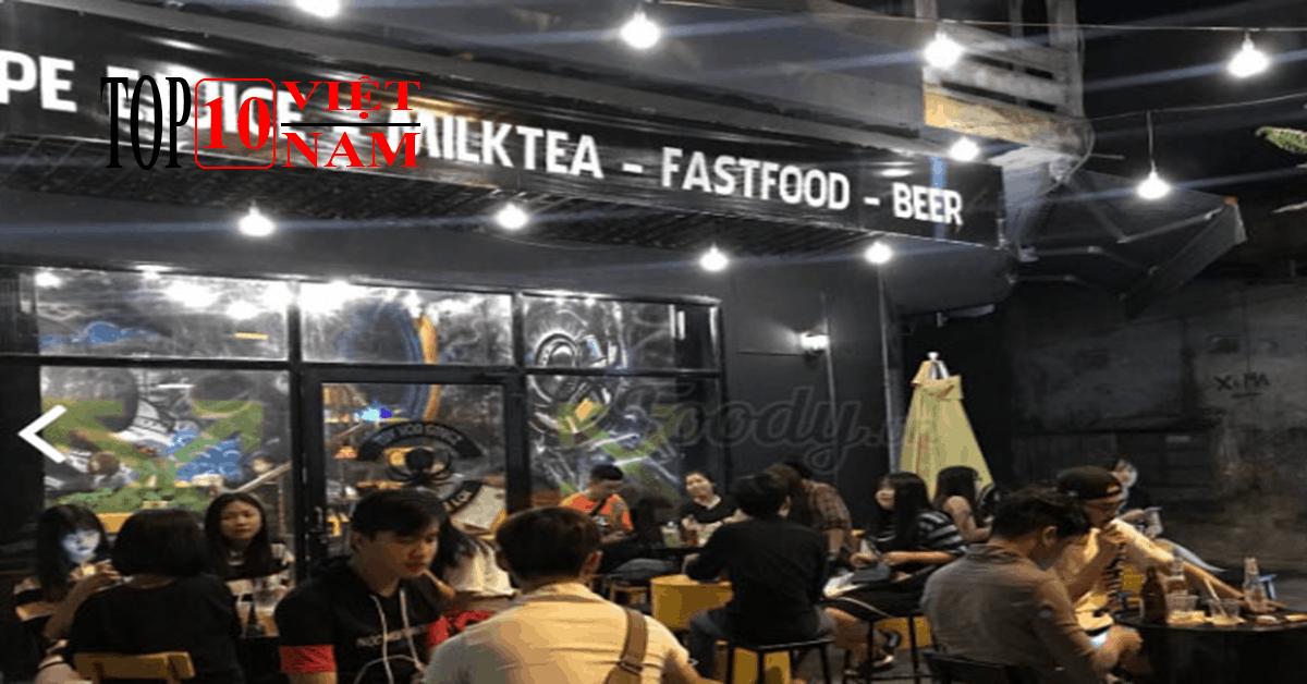 Gangz milktea fastfood beer