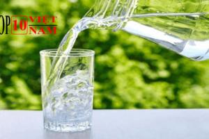 Top Những Lợi Ích Của Việc Uống Nước Mỗi Ngày