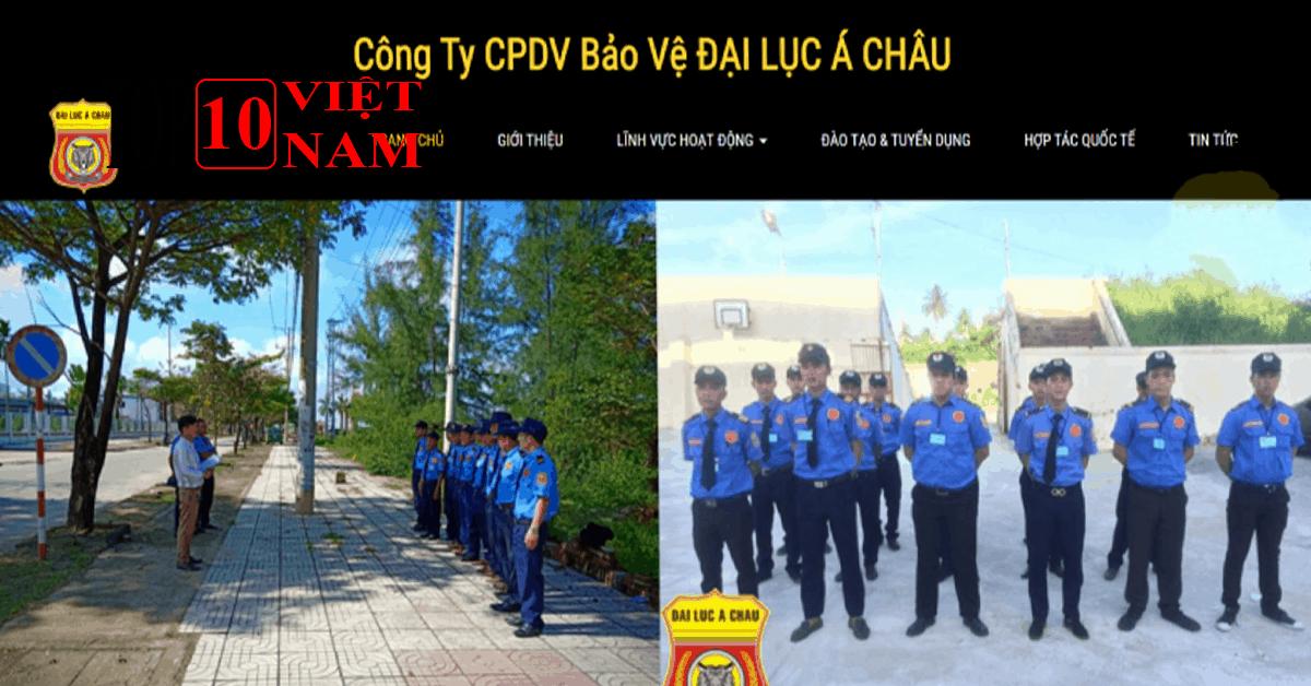 Công Ty CPDV Bảo Vệ Đại Lục Á Châu – Bảo Vệ Chuyên Nghiệp Đà Nẵng