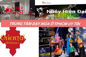 trung tâm dạy nhảy múa ở tphcm