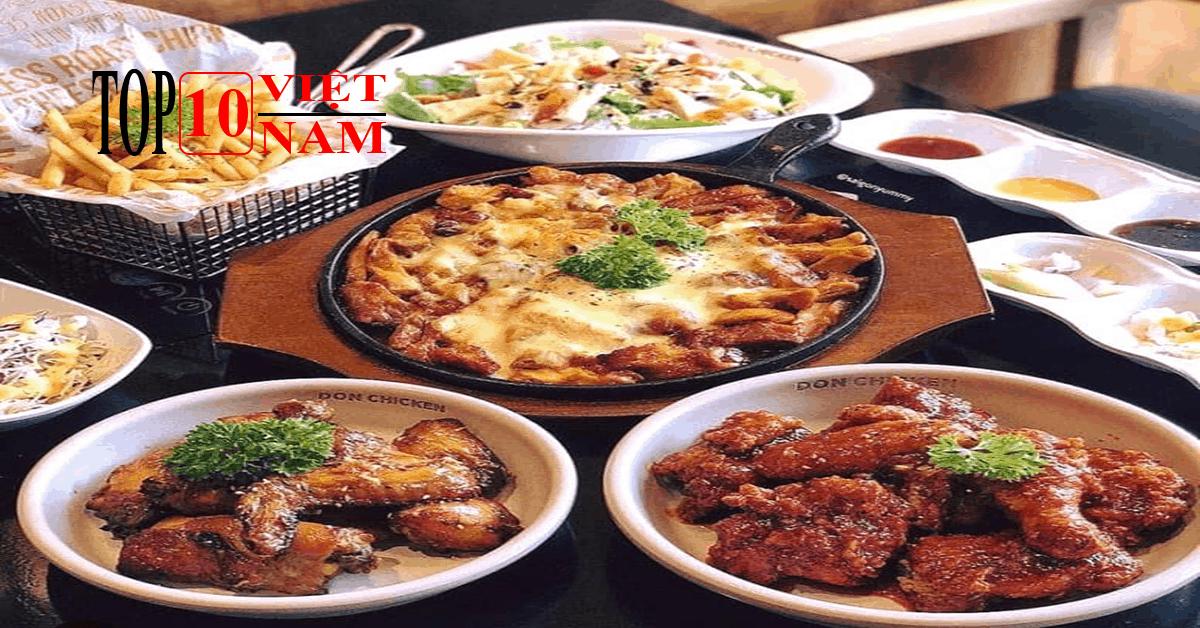 Quán Hàn Quốc Don Chicken Tại Hà Nội