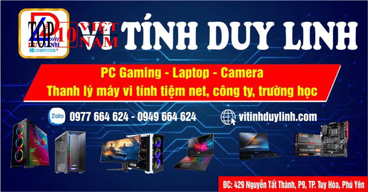 Sửa Laptop Duy Linh Computer Tại Phú Yên