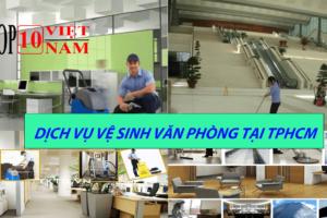 vệ sinh văn phòng tại tphcm