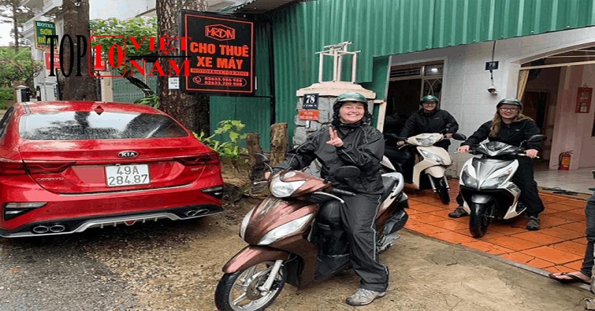 Thuê Xe Máy Gần Hồ Tuyền Lâm Ở Đà Lạt – Mr Din