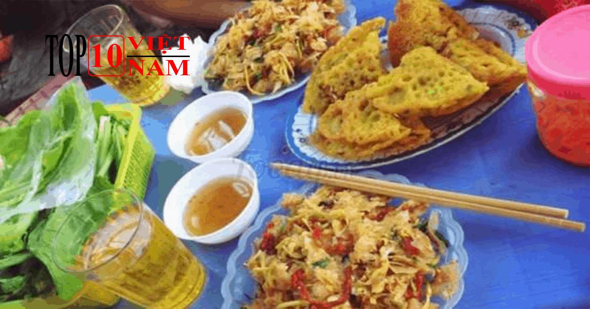 Bánh Xèo Thịnh Lang Ăn Vặt Ngon Tại Hòa Bình
